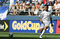 Roger Espinoza. Honduras defeated Haiti 1-0 during the First Round of the 2009 CONCACAF Gold Cup at Qwest Field in Seattle, Washington on July 4, 2009.