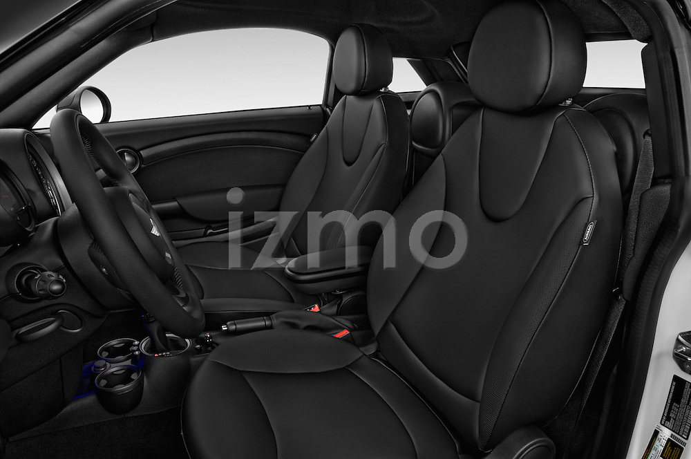 Front seat view of a 2015 MINI Mini Cooper 2 Door Coupe Front Seat car photos