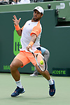 March 26 2017: Fernando Verdasco (ESP) battles against Kei Nishikori (JPN) in three sets at the Miami Open being played at Crandon Park Tennis Center in Miami, Key Biscayne, Florida. ©Karla Kinne/Tennisclix/Cal Sports Media