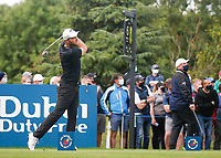 4th July 2021; Mount Juliet Golf Club, Kilkenny, Ireland; Dubai Duty Free Irish Open Golf, Day Four; Maximilian of Germany tees off on the 6th hole