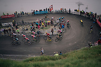grupetto up the brutal Col du Portet (HC/2250m/16km at 8.7%/Souvenir Henri Desgrange) in this historically short stage (only 65km)<br /> <br /> Stage 17: Bagnères-de-Luchon > Saint-Lary-Soulan (65km)<br /> <br /> 105th Tour de France 2018<br /> ©kramon