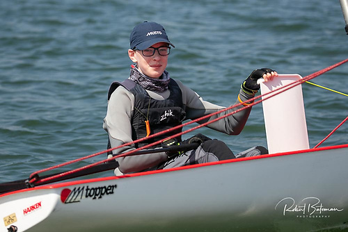 Royal Cork's Liam Duggan won the Astra Construction Topper 'Winter' Championships at Crosshaven in Cork Harbour.