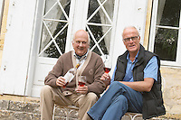 Peter & Flemming Jorgensen, owners. Chateau de Haux, Bordeaux, France