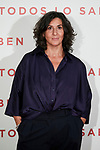 Elvira Minguez attends to 'Todos lo Saben' film photocall at Urso Hotel in Madrid, Spain. September 12, 2018. (ALTERPHOTOS/A. Perez Meca)