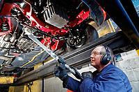 2018 01 05 Mercedes restoration, Swansea, Wales, UK