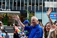 PQ Leader Jean-Francois Lisee<br />  attend the Montreal gay pride 2017