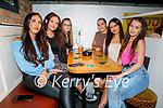 Michaela Sugrue from Tralee celebrating her birthday in Sean Og's on Saturday, l to r: Sandra Sab, Hannah Lynchehan, Roksana Jagnewska, Kate Connors, Michaela Sugrue and Anna Morrisson.