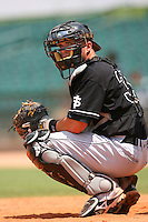 July 17 2008: Jackson Williams of the San Jose Giants during game against the Lancaster JetHawks at Clear Channel Stadium in Lancaster,CA.  Photo by Larry Goren/Four Seam Images