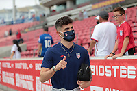SANDY, UT - JUNE 10: Christian Pulisic #10 of the United States before a game between Costa Rica and USMNT at Rio Tinto Stadium on June 10, 2021 in Sandy, Utah.