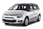 Front three quarter view of a 2013 Citroen GRAND C4 PICASSO Intensive 5 Door Minivan 2WD