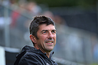 Rangers assistant coach Graham Little during the Central League football match between Miramar Rangers and Lower Hutt AFC at David Farrington Park in Wellington, New Zealand on Saturday, 10 April 2021. Photo: Dave Lintott / lintottphoto.co.nz