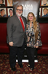 Gabriel Stelian-Shanks and Bonnie Comley attend the 2019 Drama League Nominees Announcement at Sardi's on April 17, 2019 in New York City.