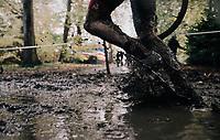 splish/splash running along...<br /> <br /> U23 Men's race<br /> Superprestige Gavere / Belgium 2017