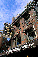 Boston Massachusetts MA USA Freedon Trail Union Oyster House historical Union Street.