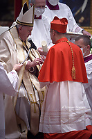 Cardinal Mauro Gambetti.Pope Francis leads a consistory for the creation of five new cardinals  at St Peter's basilica in Vatican.28 november 2020