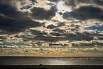 Hammonasset State Beach Park. Long Island Shoreline.