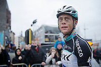 Niki Terpstra (NLD/Etixx-QuickStep) post-race<br /> <br /> 77th Gent-Wevelgem 2015