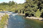 Trout fishing area, Tongariro River