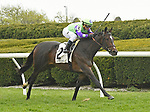 LEXINGTON, KY - APRIL 8: #2, Rushing Fall  ridden by Javier Castellano, wins the G2 Appalachian at Keeneland Race Course on April 8, 2018 in Lexington, KY. (Photo by Jessica Morgan/Eclipse Sportswire/Getty Images)