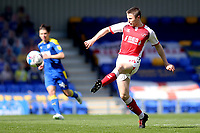 Jordan Rossiter of Fleetwood Town in action during AFC Wimbledon vs Fleetwood Town, Sky Bet EFL League 1 Football at Plough Lane on 5th April 2021