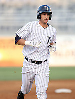 Outfielder Neil Medchill of the Tampa Yankees during a game at George M Steinbrenner Field in Tampa, FL. Tampa is the Florida State League High Class-A affiliate of the New York Yankees. Photo By Mark LoMoglio/Four Seam Images