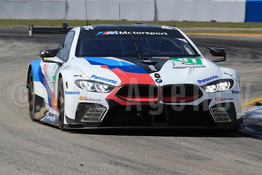 #81 BMW TEAM MTEK (DEU) BMW M8 GTE GTE PRO MARTIN TOMCZYK (DEU) NICKY CATSBURG (NLD) ALEXANDER SIMS (GBR)