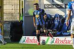 Waldhofs Arianit Ferati (Nr.10) am Ball beim Spiel in der 3. Liga, SV Waldhof Mannheim - 1. FC Magdeburg.<br /> <br /> Foto © PIX-Sportfotos *** Foto ist honorarpflichtig! *** Auf Anfrage in hoeherer Qualitaet/Aufloesung. Belegexemplar erbeten. Veroeffentlichung ausschliesslich fuer journalistisch-publizistische Zwecke. For editorial use only. DFL regulations prohibit any use of photographs as image sequences and/or quasi-video.