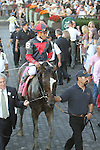 """September 27, 2014: Tonalist with Joel Rosario win the 96th running of the $1,000,000 Grade I Jockey Club Gold Cup, a """"Win and You're In""""  3-year olds & up, going 1 1/4 at Belmont Park. Trainer: Christophe Clemente . Owner: Robert Evans  . Sue Kawczynski/ESW/CSM"""