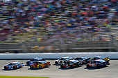 Monster Energy NASCAR Cup Series<br /> FireKeepers Casino 400<br /> Michigan International Speedway, Brooklyn, MI USA<br /> Sunday 18 June 2017<br /> Kyle Busch, Joe Gibbs Racing, M&M's Red, White & Blue Toyota Camry and Martin Truex Jr, Furniture Row Racing, Auto-Owners Insurance Toyota Camry<br /> World Copyright: Nigel Kinrade<br /> LAT Images
