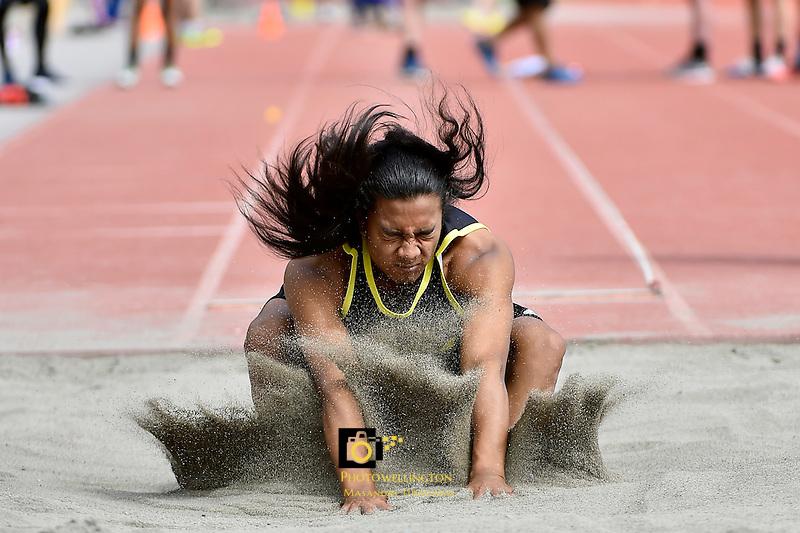 Athletics - Western College Championships at Newtown, Wellington, New Zealand on Wednesday 9 March 2016. <br /> Photo by Masanori Udagawa. <br /> www.photowellington.photoshelter.com.