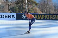 SPEED SKATING: COLLALBO: Arena Ritten, 11-01-2019, ISU European Speed Skating Championships, training, Ireen Wüst (NED), ©photo Martin de Jong