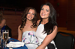 St Johnstone FC Hall of Fame Dinner, Perth Concert Hall….03.04.16<br />Gemma Anderson and Claire Rylance<br />Picture by Graeme Hart.<br />Copyright Perthshire Picture Agency<br />Tel: 01738 623350  Mobile: 07990 594431