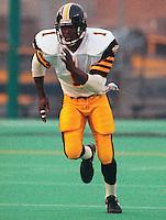 Earl Winfield HamiltonTiger Cats receiver 1991. Copyright photograph Scott Grant