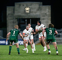 Friday 23rd April 2021; Tom O'Toole during the first round of the Guinness PRO14 Rainbow Cup between Ulster Rugby and Connacht Rugby at Kingspan Stadium, Ravenhill Park, Belfast, Northern Ireland. Photo by John Dickson/Dicksondigital