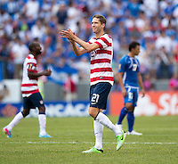 Clarence Goodson.  The United States defeated El Salvador, 5-1, during the quarterfinals of the CONCACAF Gold Cup at M&T Bank Stadium in Baltimore, MD.