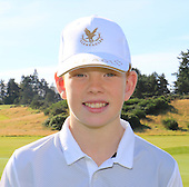 "Gregor Graham from Blairgowrie Golf Club is named as one of the ""DreamTeam"" of Junior Golfers who have been selected to take part in the The Gleneagles Foundation inaugural 12 month scholarship programme  : Picture Stuart Adams, www.golftourimages.com: 19/09/2015"