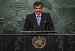 Address by His Highness Sheikh Tamim Bin Hamad Al-Thani, Amir of the State of Qatar