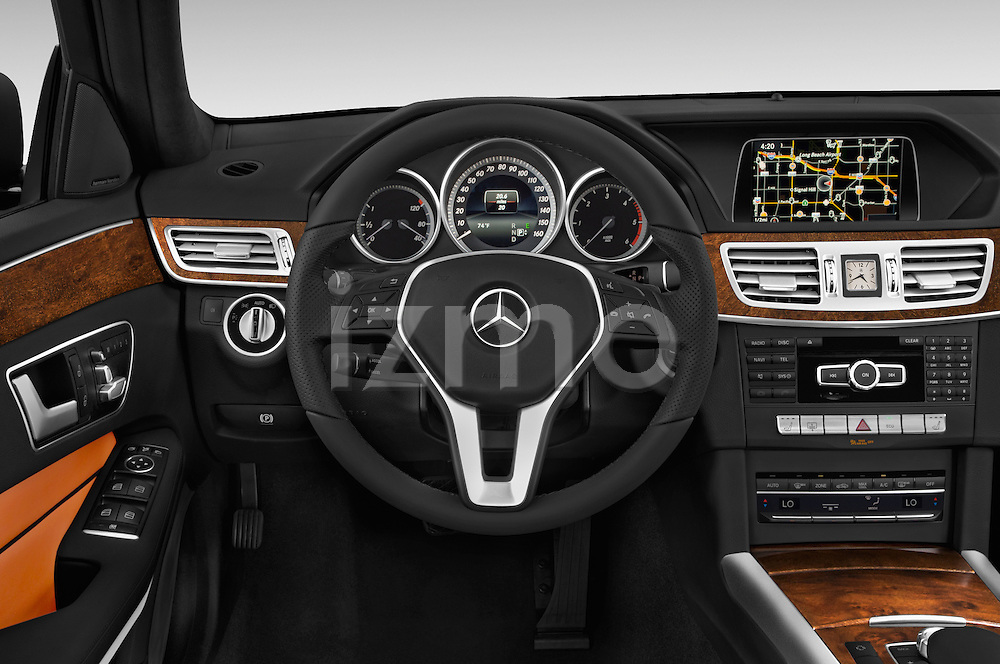 Car pictures of steering wheel view of a 2015 Mercedes Benz E-Class E250 BlueTEC Luxury 4 Door Sedan