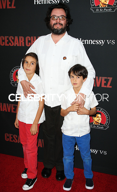 """HOLLYWOOD, LOS ANGELES, CA, USA - MARCH 20: Pablo Cruz at the Los Angeles Premiere Of Pantelion Films And Participant Media's """"Cesar Chavez"""" held at TCL Chinese Theatre on March 20, 2014 in Hollywood, Los Angeles, California, United States. (Photo by Celebrity Monitor)"""