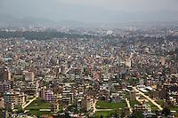 The View Over Kathmandu from Swayambhunath, Nepal
