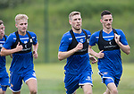 St Johnstone Training….29.06.19   McDiarmid Park, Perth<br />David Wotherspoon pictured during a training run<br />Picture by Graeme Hart.<br />Copyright Perthshire Picture Agency<br />Tel: 01738 623350  Mobile: 07990 594431
