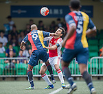 Ajax All Stars vs USRC during the Masters of the HKFC Citi Soccer Sevens on 21 May 2016 in the Hong Kong Footbal Club, Hong Kong, China. Photo by Lim Weixiang / Power Sport Images
