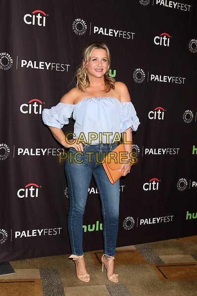LOS ANGELES, CA - MARCH 19: Jessica Capshaw at the 34th Annual PaleyFest presentation of Grey's Anatomy at the Dolby Theater in Los Angeles, California on March 19, 2017. <br /> CAP/MPI/DE<br /> ©DE/MPI/Capital Pictures