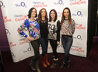 20/11/13<br /> B*witched (L-R) Sisters Keavy and Edele Lynch, Sineead O'Carroll and Lindsay Armaou who will be performing Cheerios Childline Concert at the O2 Dublin this evening….<br /> Pic Collins Photos