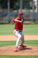 Philadelphia Phillies pitcher Erubiel Armenta (24) during an Extended Spring Training game against the Toronto Blue Jays on June 12, 2021 at the Carpenter Complex in Clearwater, Florida. (Mike Janes/Four Seam Images)