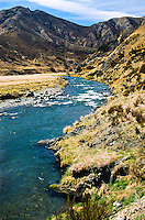 Clarence River near Jollies Pass above Hanmer Springs - Canterbury, New Zealand