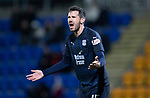 St Johnstone v Dundee….03.04.19   McDiarmid Park   SPFL<br />Ryan McGowan screams at his team mates<br />Picture by Graeme Hart. <br />Copyright Perthshire Picture Agency<br />Tel: 01738 623350  Mobile: 07990 594431