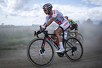 Marcel Meisen (GER/Corendon Circus) cornering a gravel section<br /> <br /> Antwerp Port Epic 2019 <br /> One Day Race: Antwerp > Antwerp 187km<br /> <br /> ©kramon