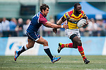 GFI East Africans vs UBB Gavekal during the 2015 GFI HKFC Tens at the Hong Kong Football Club on 26 March 2015 in Hong Kong, China. Photo by Xaume Olleros / Power Sport Images