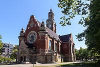 St.Johannes-Kirche, erbaut 1907 , Malmö, Provinz Skåne (Schonen), Schweden, Europa<br /> St. John church in Malmo, Sweden